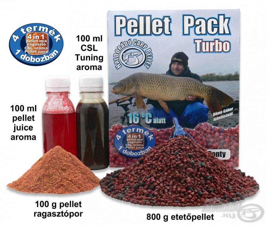 A Pellet Pack Turbo szélsőséges időjárási körülmények között bizonyít kiemelkedően. A Fagyos Ponty 16 Celsius-fok alatti hőmérsékletű vizekben hatásos