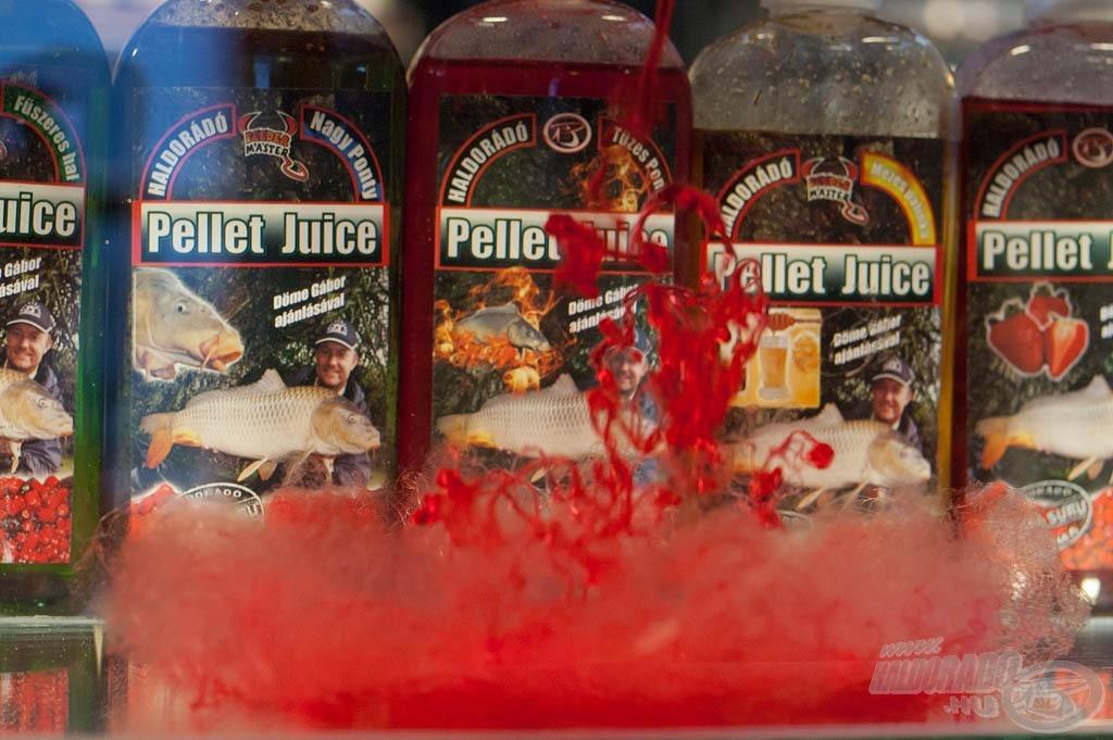 A Pellet Juice egy szirupszerű, nagyon sűrű aroma, amely sokáig dolgozik