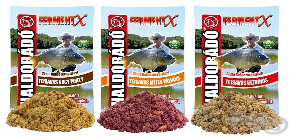 Háromféle kész, megnedvesített, ideális állagúra kevert etetőanyagot kínálunk, amelyet már csak kosárba kell gyúrni