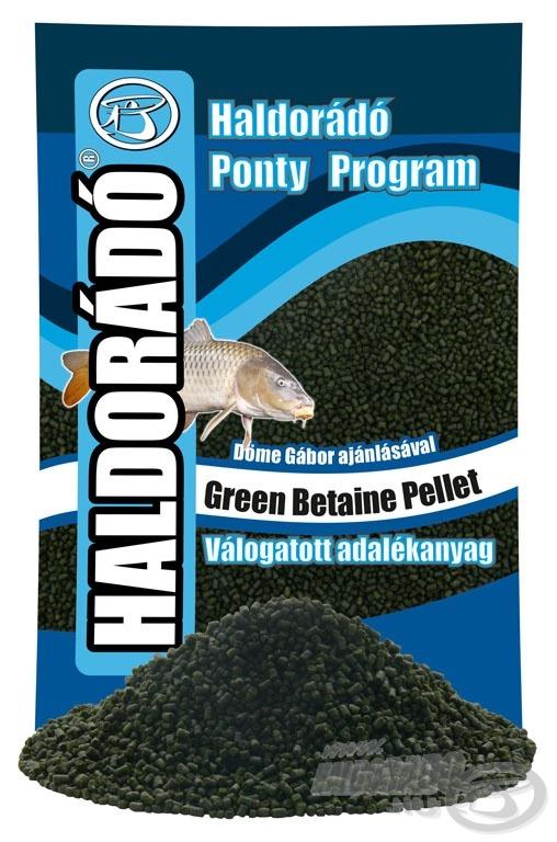 A betain sikere a horgászatban már régóta bizonyított, stimulálja a táplálékfelvételt. Minél többet eszik belőle a hal, annál jobb étvággyal és elánnal keresi az újabb falatokat - ebben segít a Green Betaine Pellet