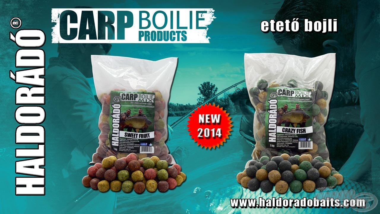 Két változatban kapható a szoktató etetéshez kínált Carp Boilie Mix