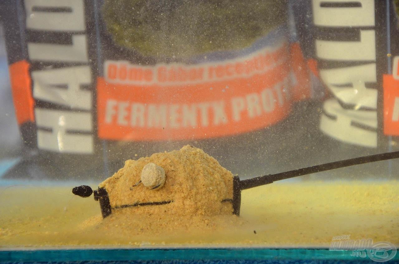 Világújdonság method feeder keverék a tejsavas hallisztes etetőanyag, melynek neve FermentX Protein