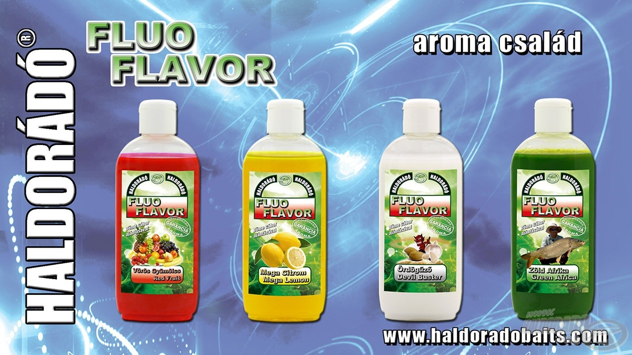 Az új Fluo Energy termékek alapjául a 2014-ben forgalomba került, nagy népszerűségnek örvendő Fluo Flavor aromák szolgáltak