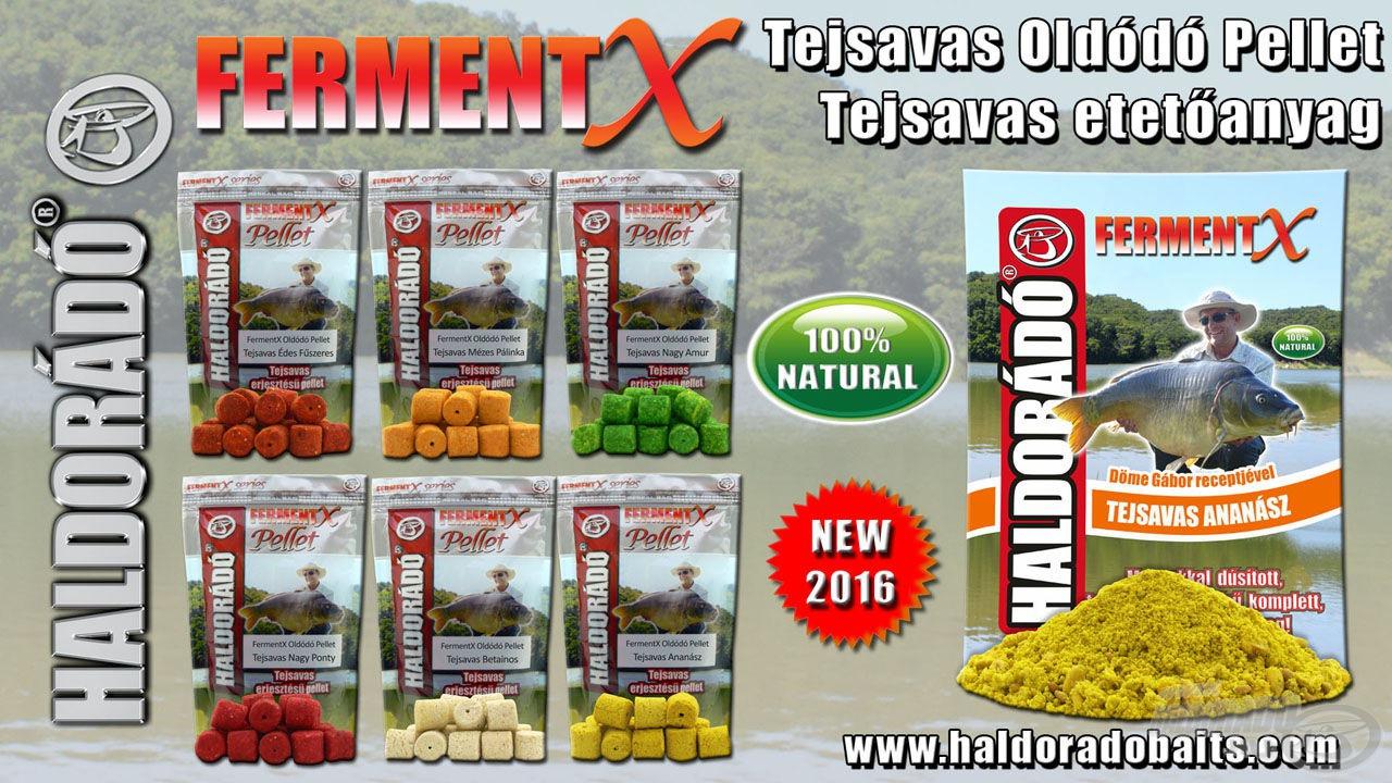 A FermentX termékcsalád is új tagokkal bővül