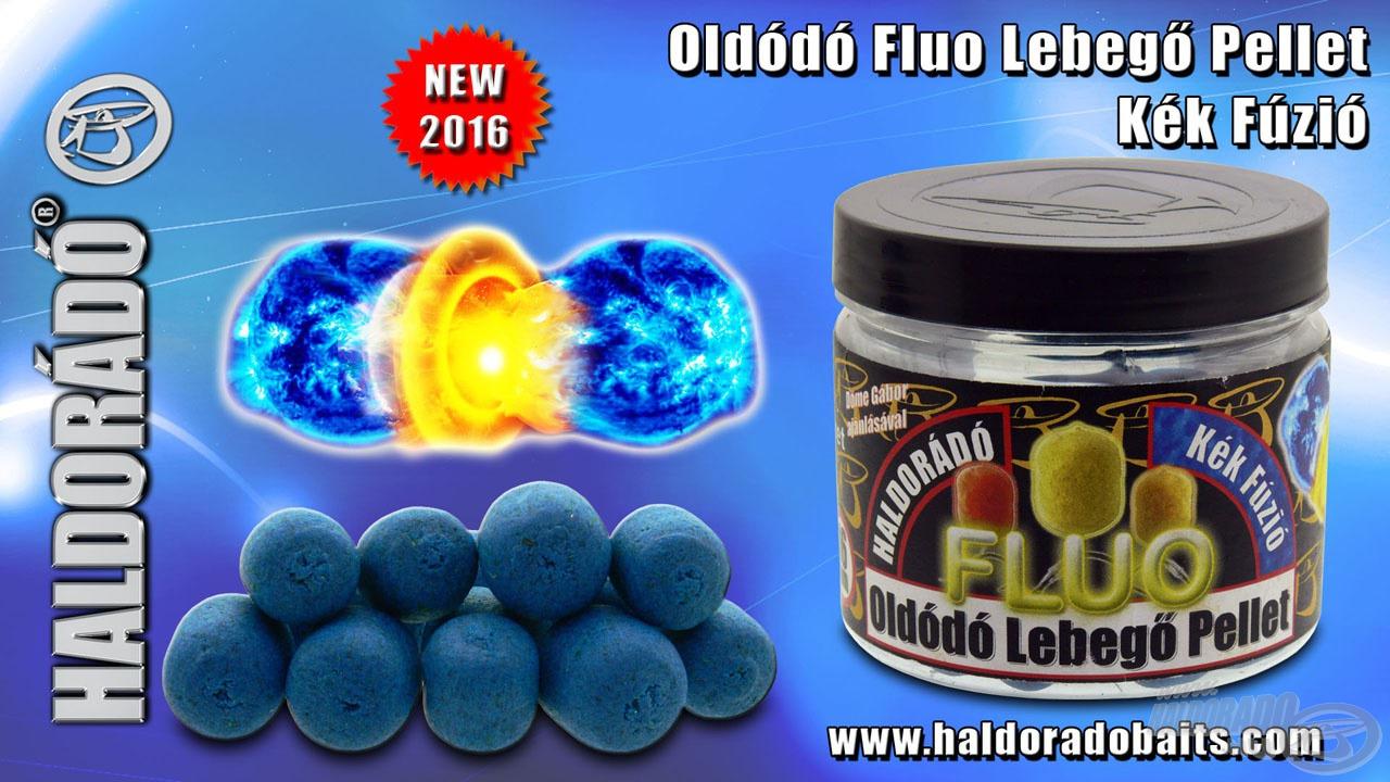 A Kék Fúzió új, különleges íze és színe rendhagyó a csalik között