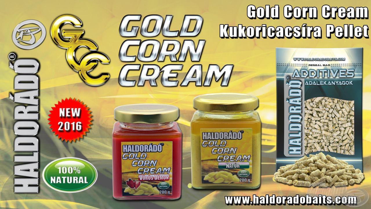 Új, kukoricacsírából készült, modern csalogatóanyagok