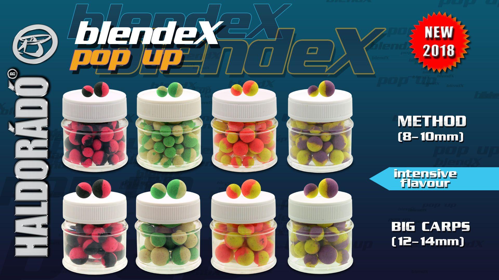 A 2018-as év egyik legkülönlegesebb újdonsága a BlendeX Pop Up csalik szériája