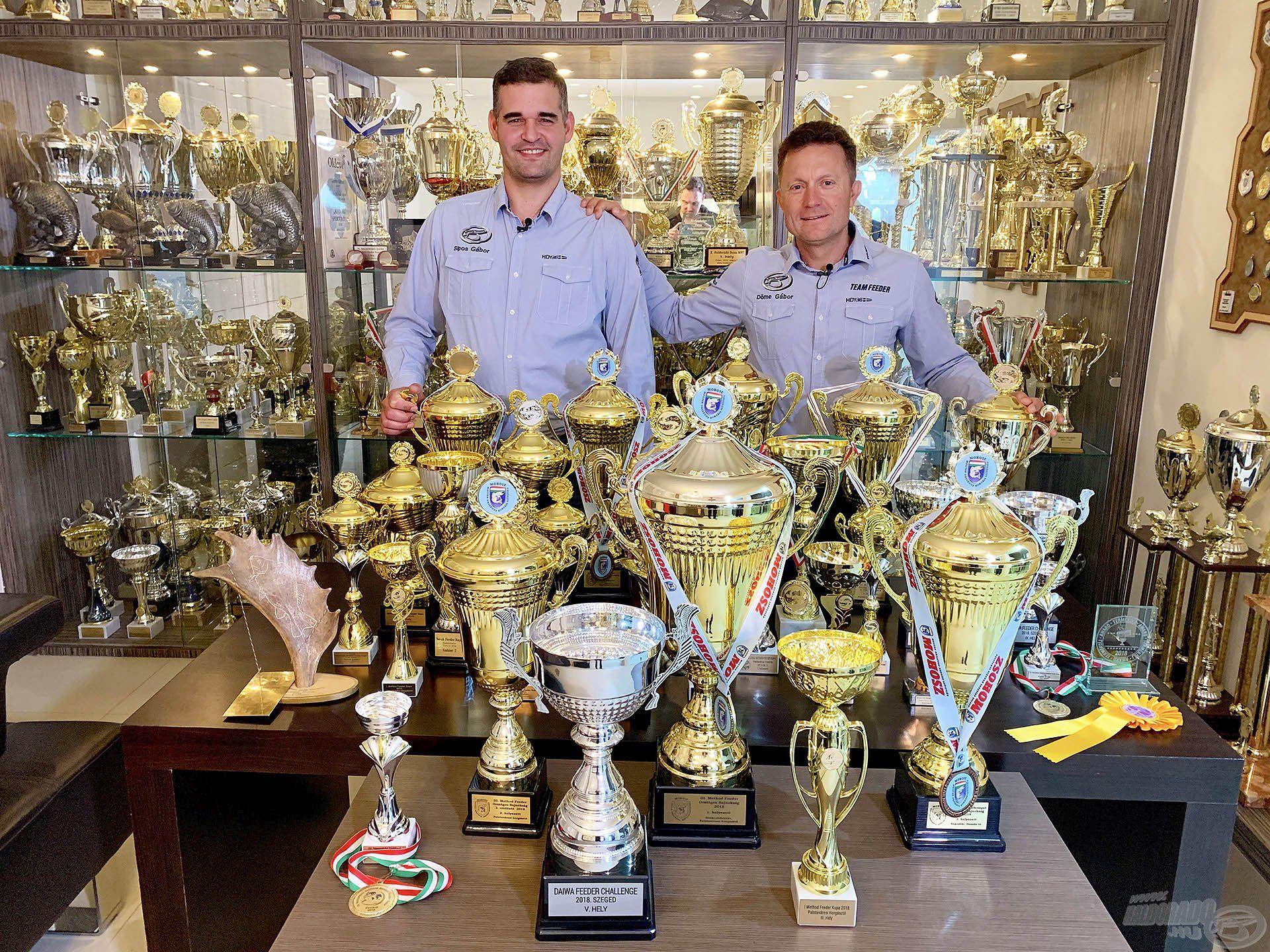 A 2018-as év átütő sikereket hozott a horgászversenyek terén, Sipos Gáborral soha nem zárhattunk még olyan eredményes évet, mint amilyen a tavalyi volt!