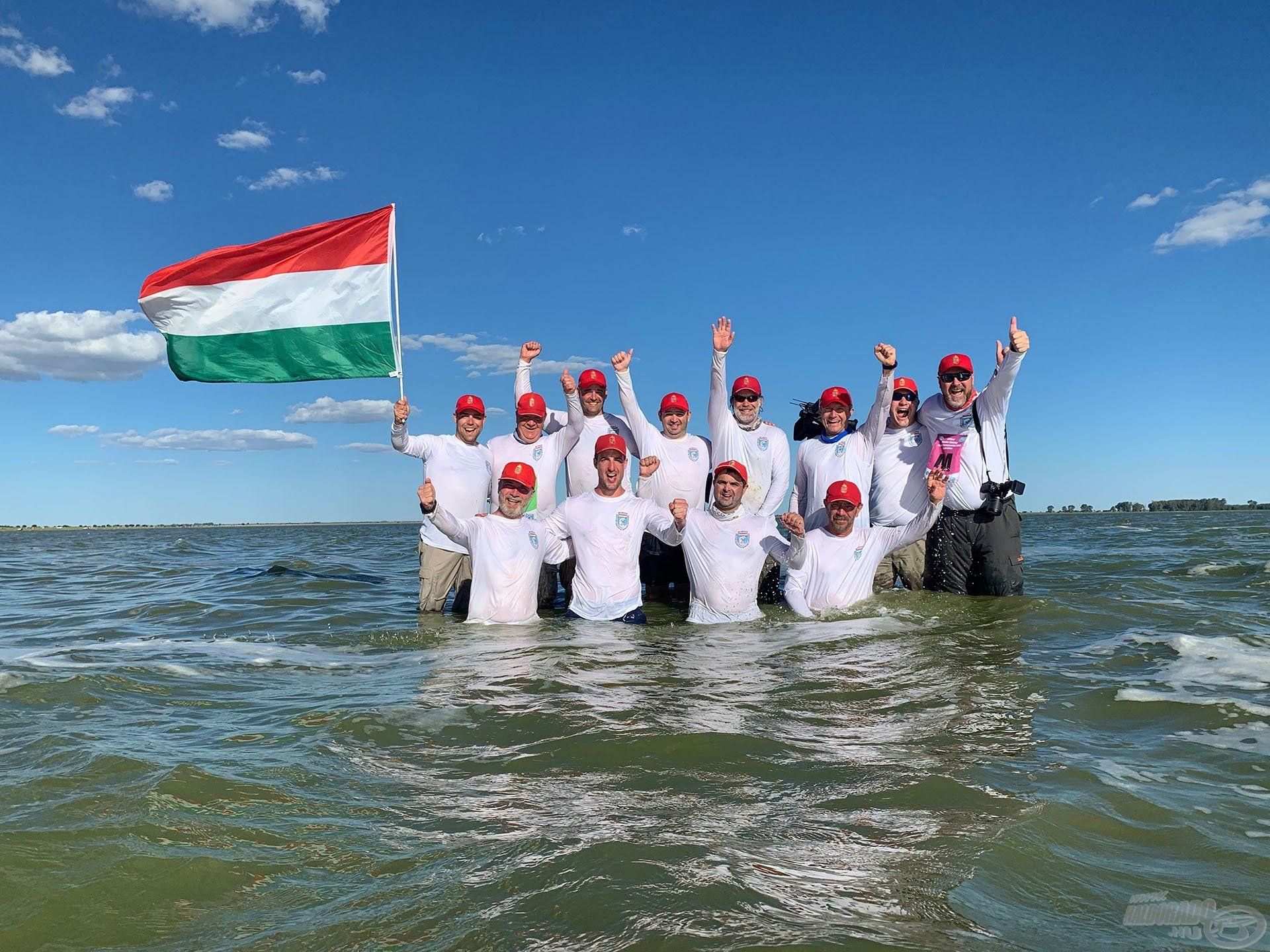 2019 februárjában Sipos Gábor és jómagam a magyar nemzeti válogatott tagjaiként a Dél-afrikai Köztársaságban világbajnoki címet szereztünk