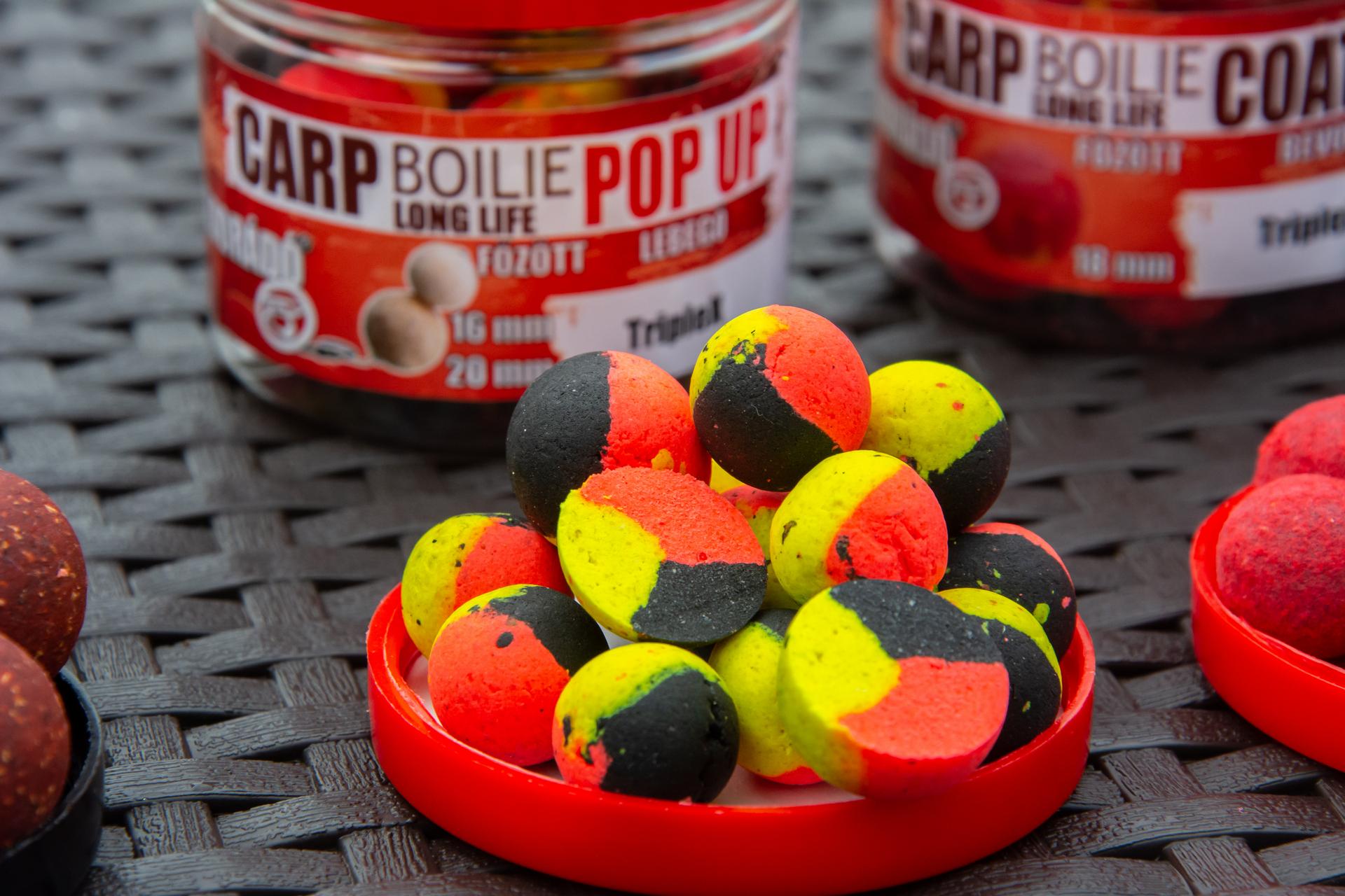 A TripleX Pop Up nemcsak háromféle ízű, hanem háromszínű is!