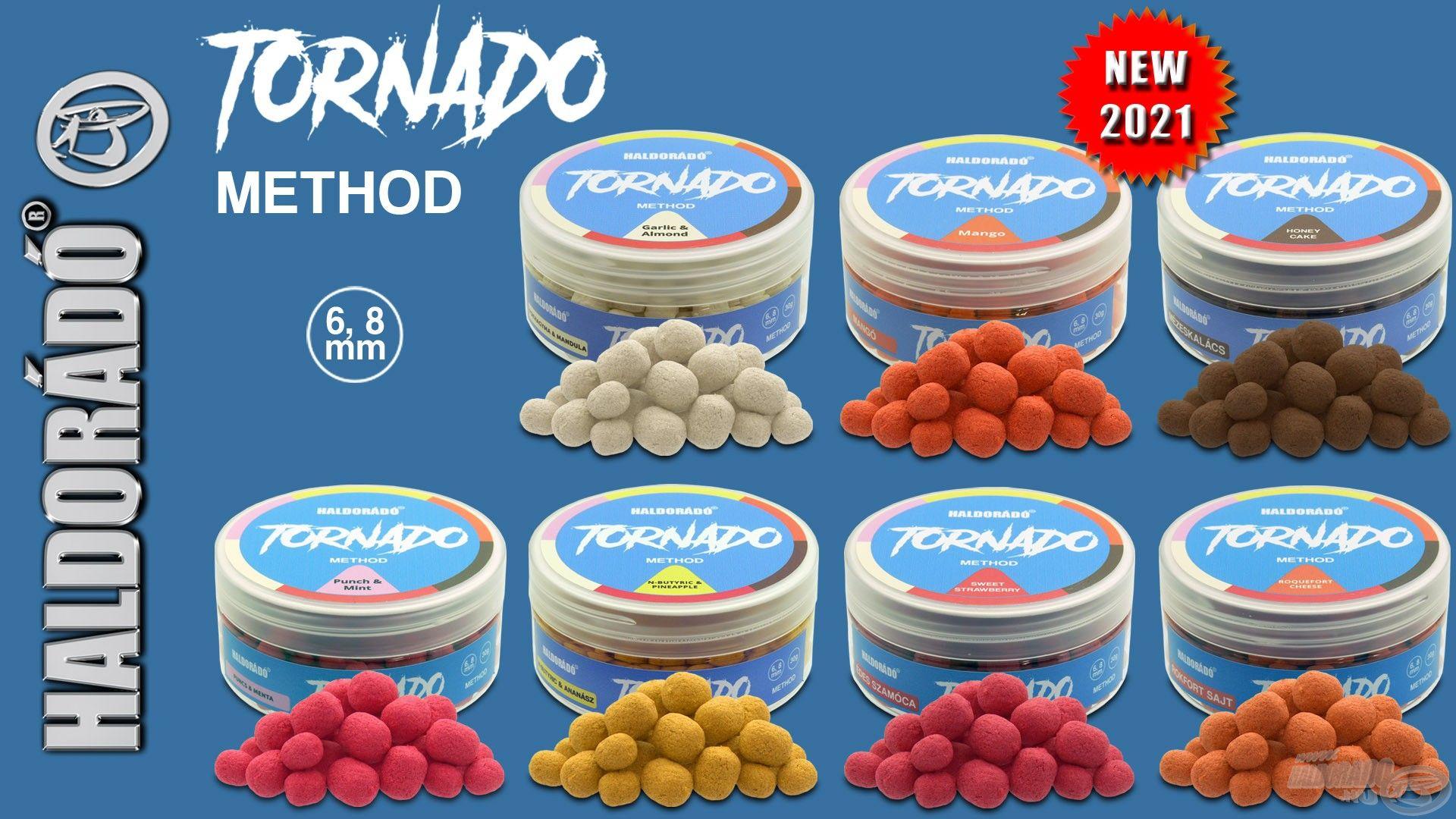 Ez a termék a nagysikerű Tornado Wafter csalik method horgászathoz optimalizált változata