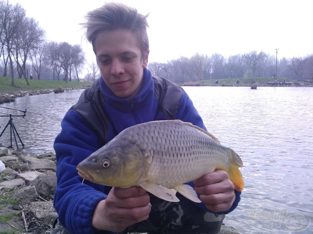 Kicsivel később a Soft Pellet adott újabb értékes halat