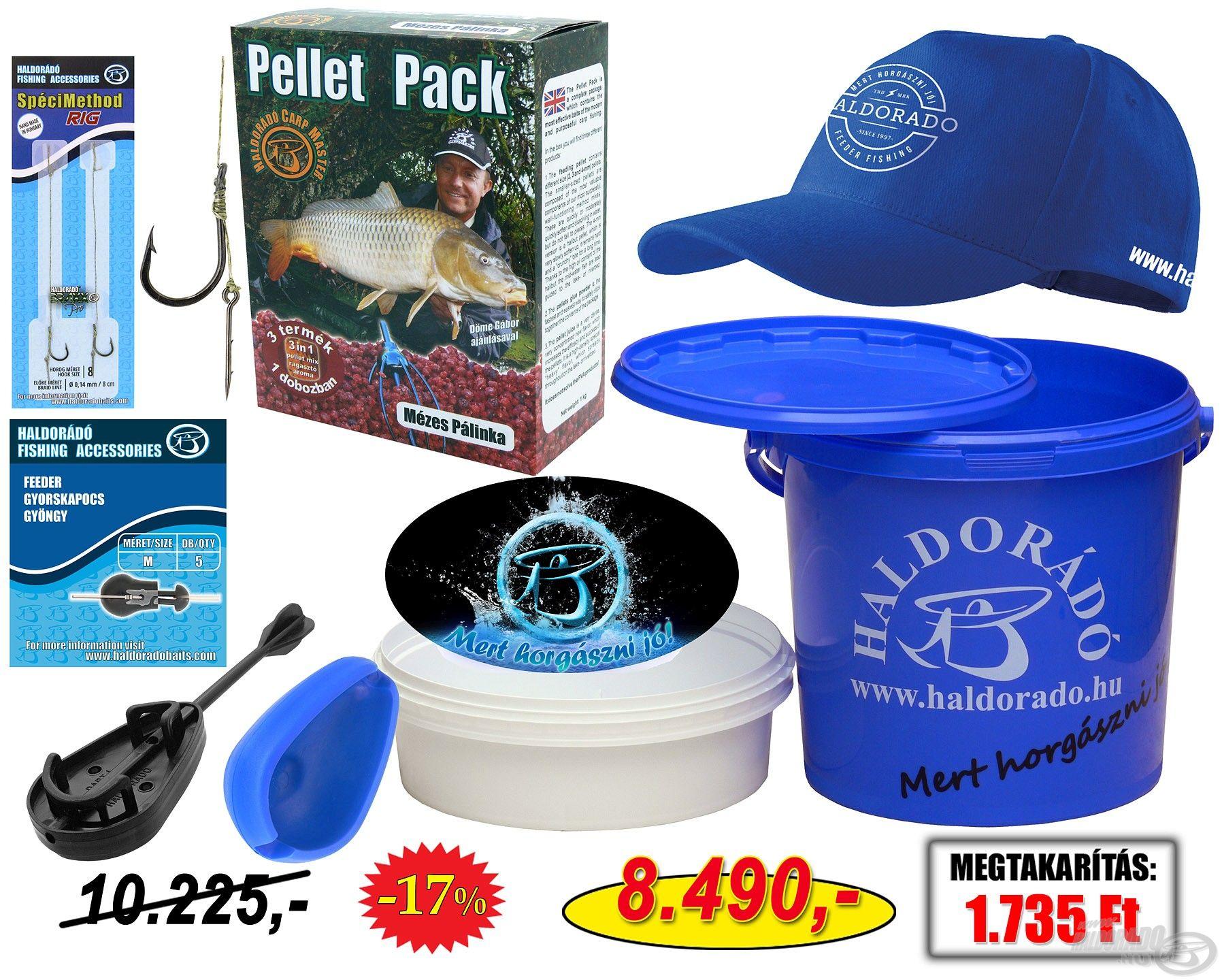Pontyos végszerelék-csomag az ifjú horgászpalánták számára