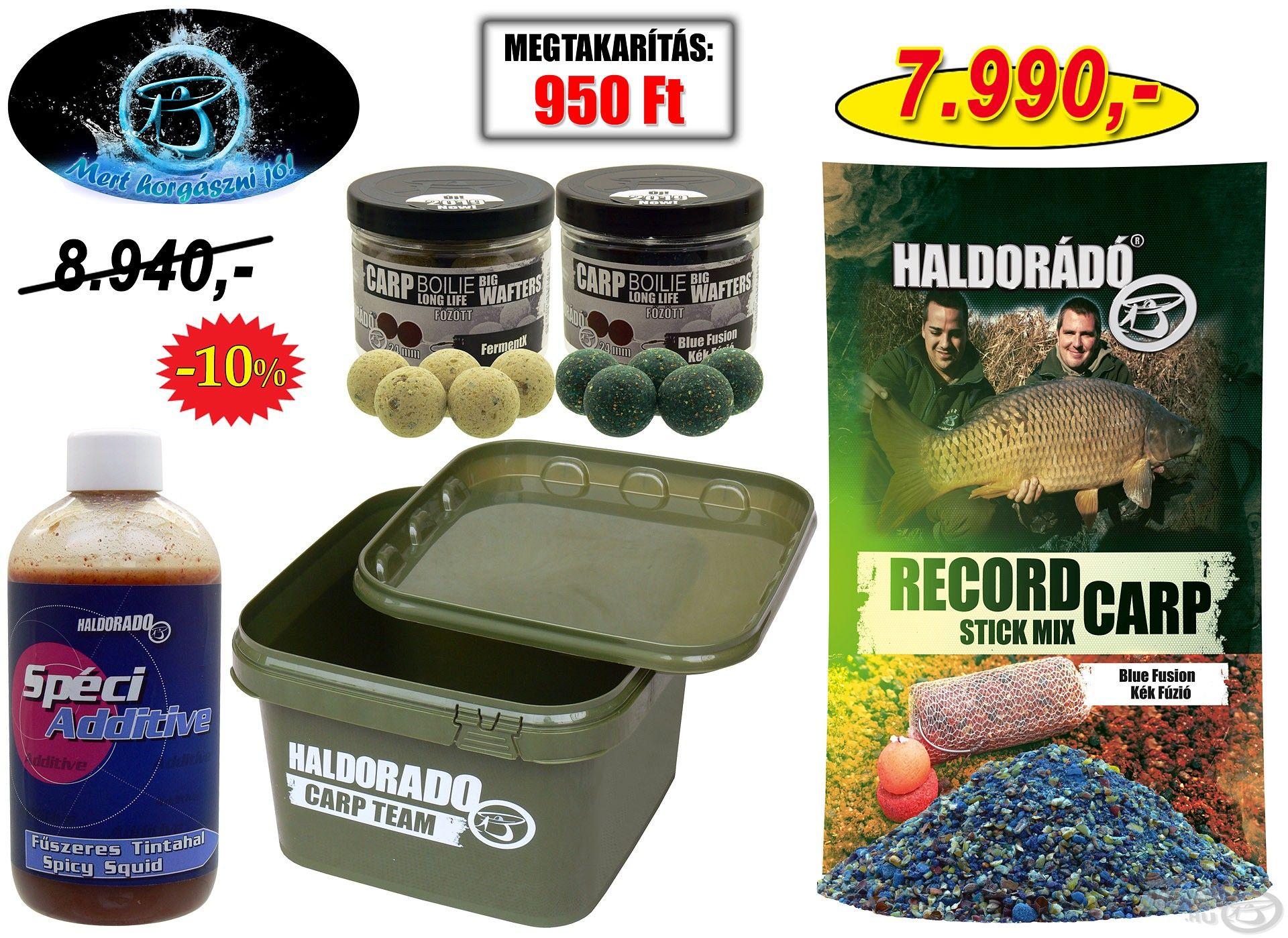 Nagyhalas ajándékcsomag bojlis horgászok számára