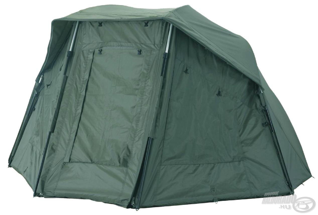 A Carp Academy Oval Dome sátrat azoknak ajánljuk, akik egy többfunkciós, megbízható, erős sátorral szeretnének a vízpartra indulni!