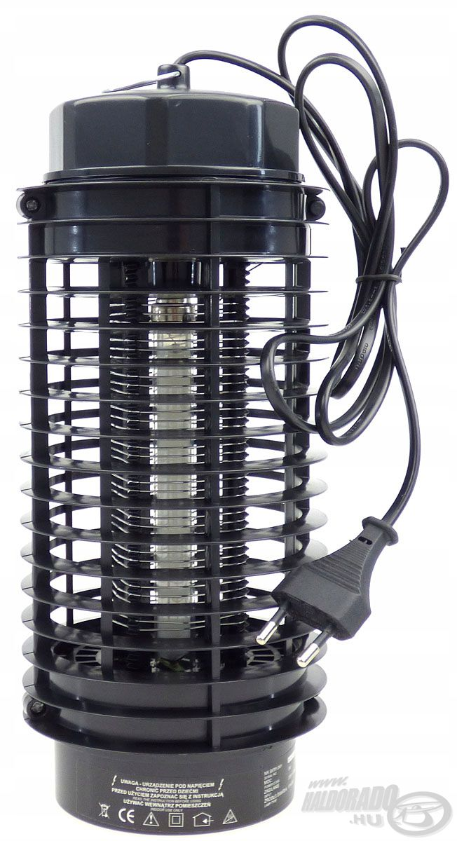 A fényforrás és egy elektromos háló együttesen biztosítja a készülék magas hatékonyságát