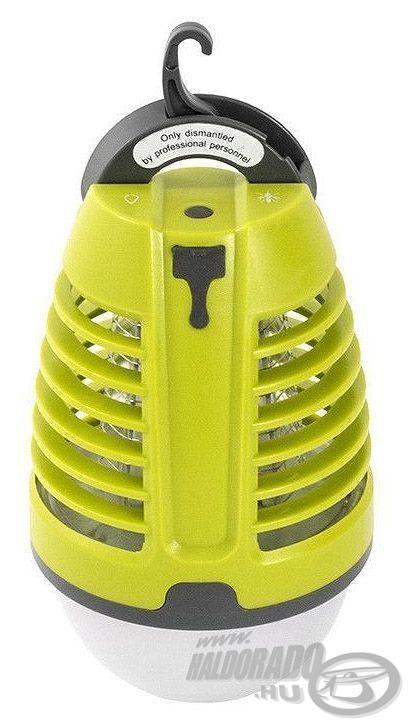 Ez arovarirtó lámpa beltéri és kültéri használatra egyaránt alkalmas