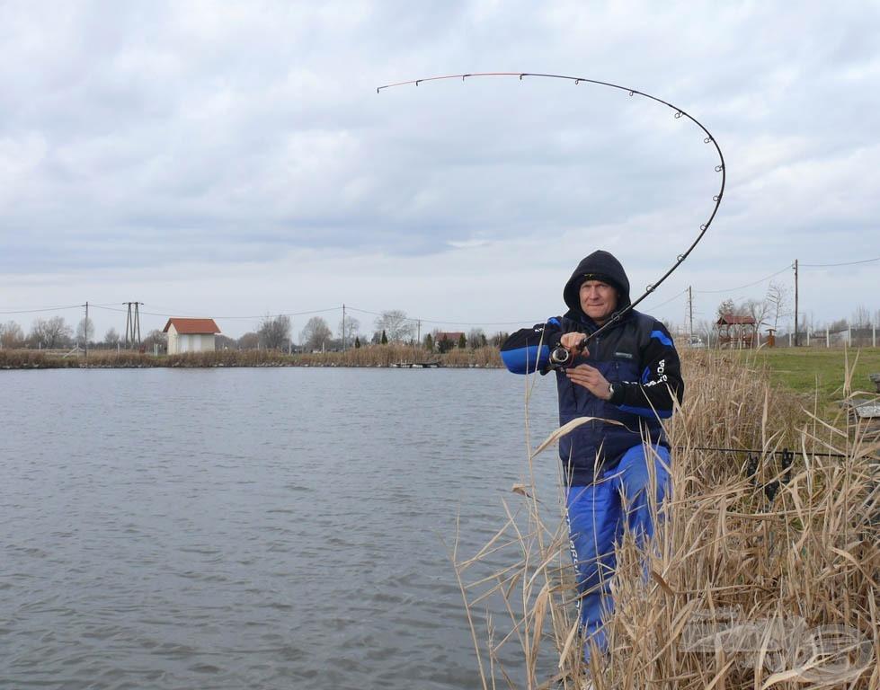 Élmény a horgászat ilyen finom pálcával