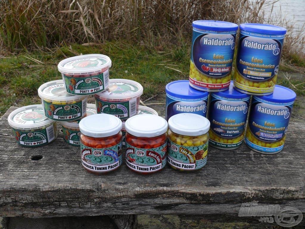 A hagyományos csalik kedvelői sem maradnak 2012-ben Haldorádó újdonságok nélkül!