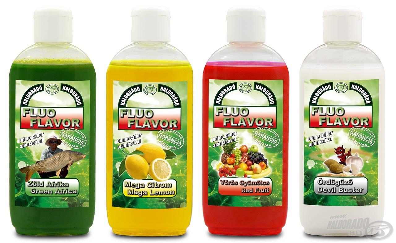 A családalapító Fluo Flavor aromák sikeres fogadtatása kiváló alapot adott a termékpaletta kibővítésére, továbbfejlesztésére