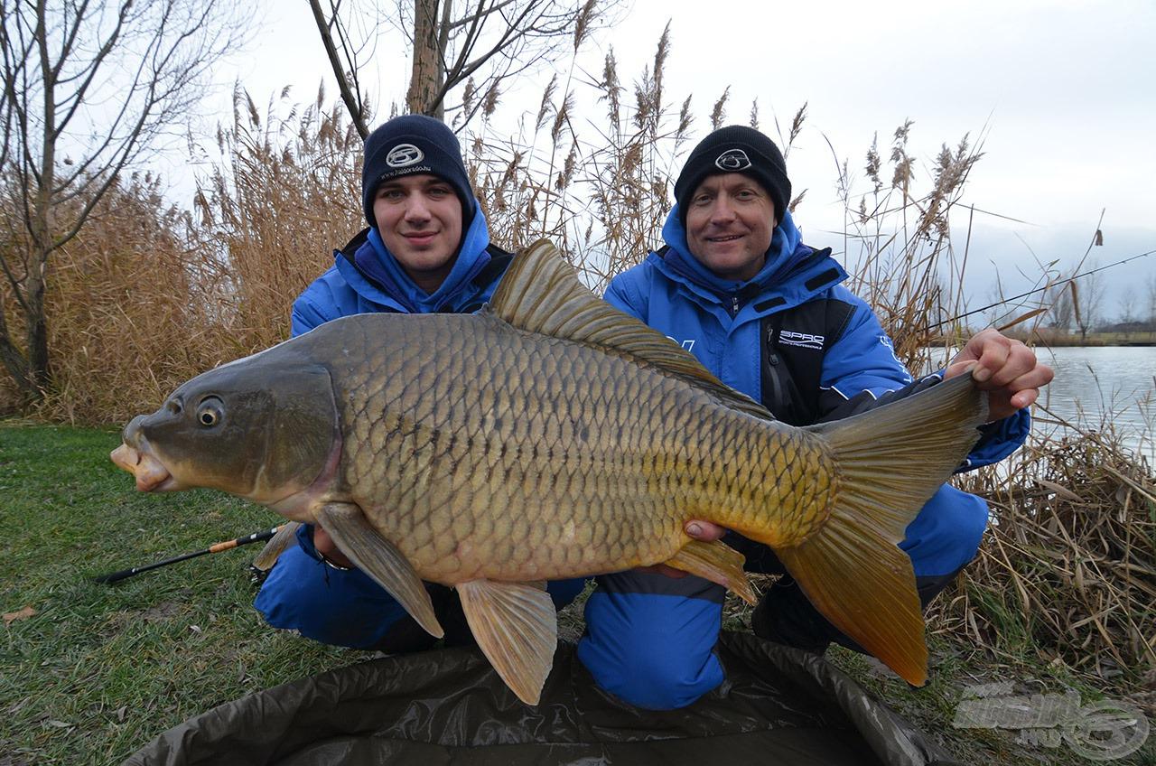 A nap legnagyobb hala, bőven 10 kg felett!