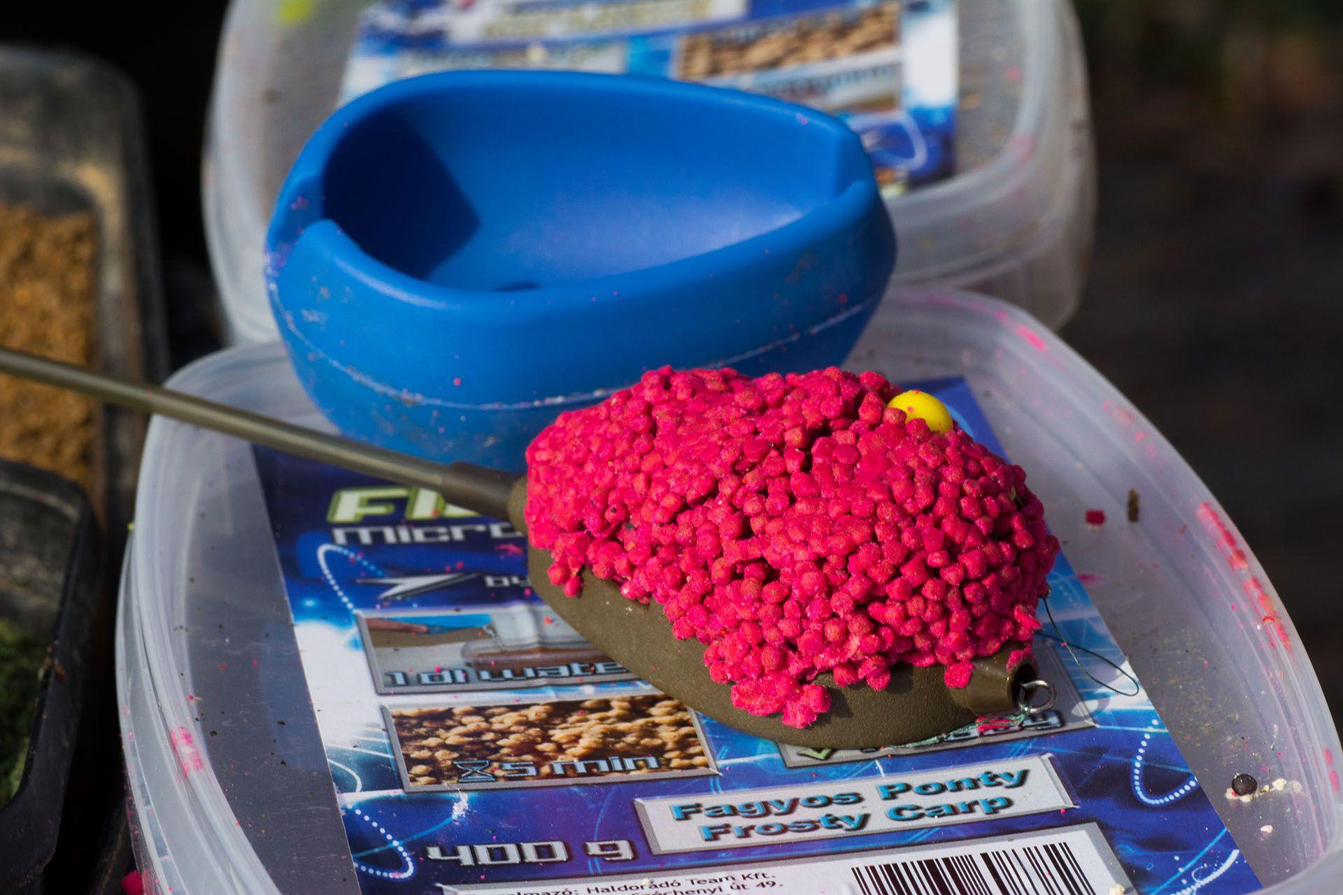 Az új Fagyos Ponty Micro Method Feed Pelletért rajongtak a halak