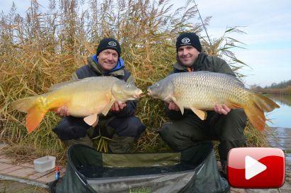 Hideg vízi pontyhorgászat feederrel 20. rész – Rapid nagyponty-horgászat
