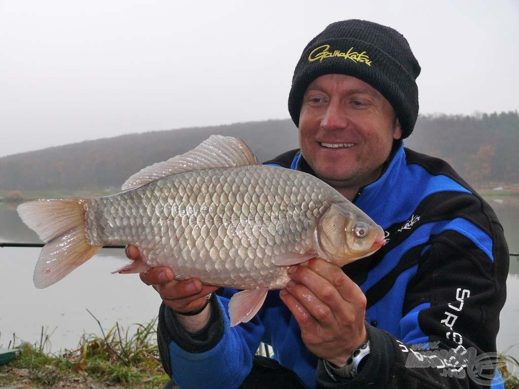 Ilyen szép kárászokra öröm a horgászat az év minden időszakában