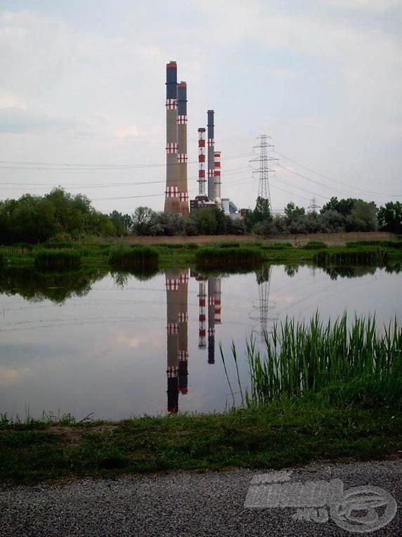 Százhalombatta az erőművéről híres, amelyet körbevesznek a tavak és a Duna folyó (forrás: www.bentahorgaszpark.hu)