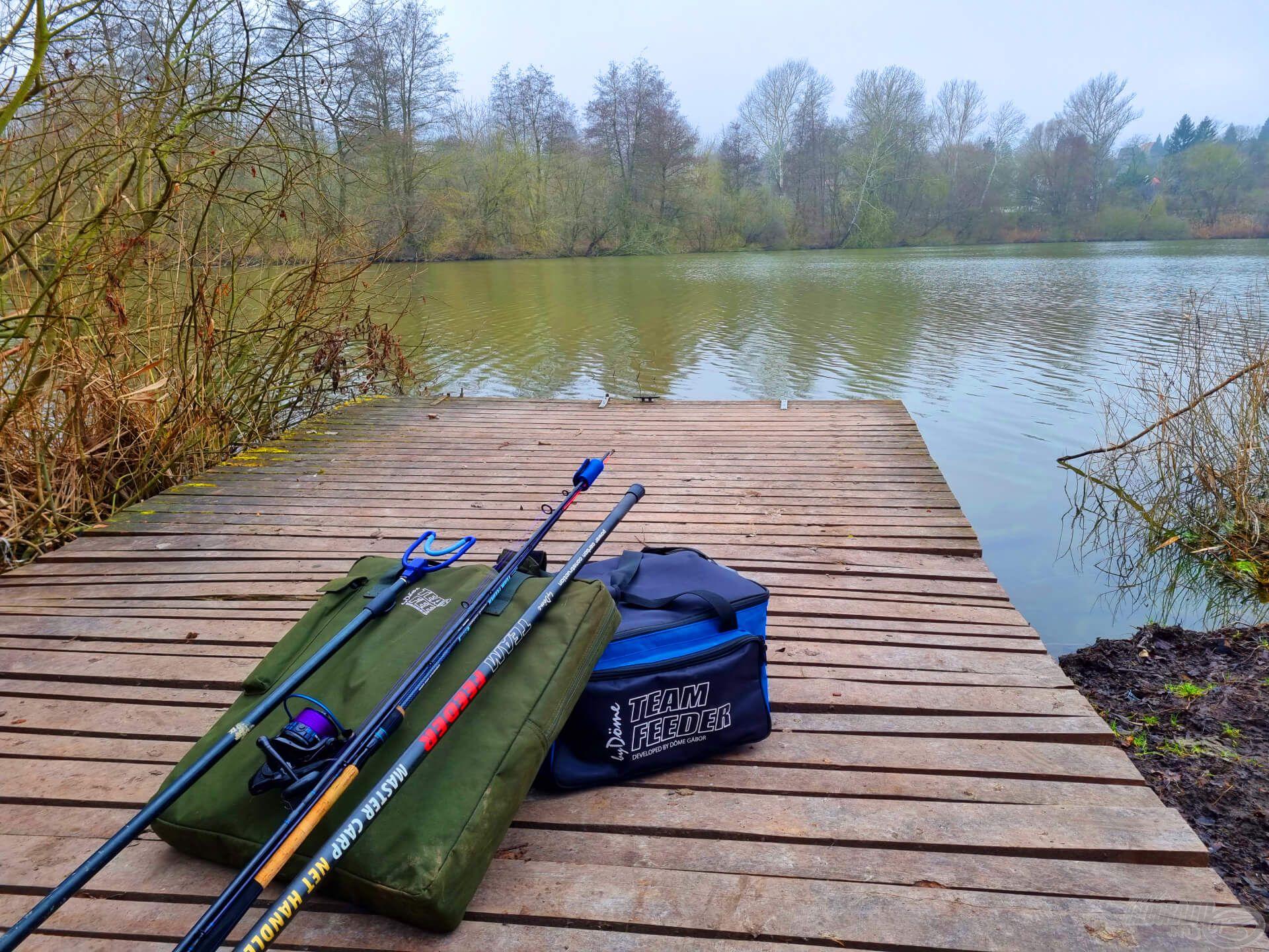 A mozgalmas, folyamatos helyváltoztató horgászat miatt elengedhetetlen a jól átgondolt, minimalizált felszerelés