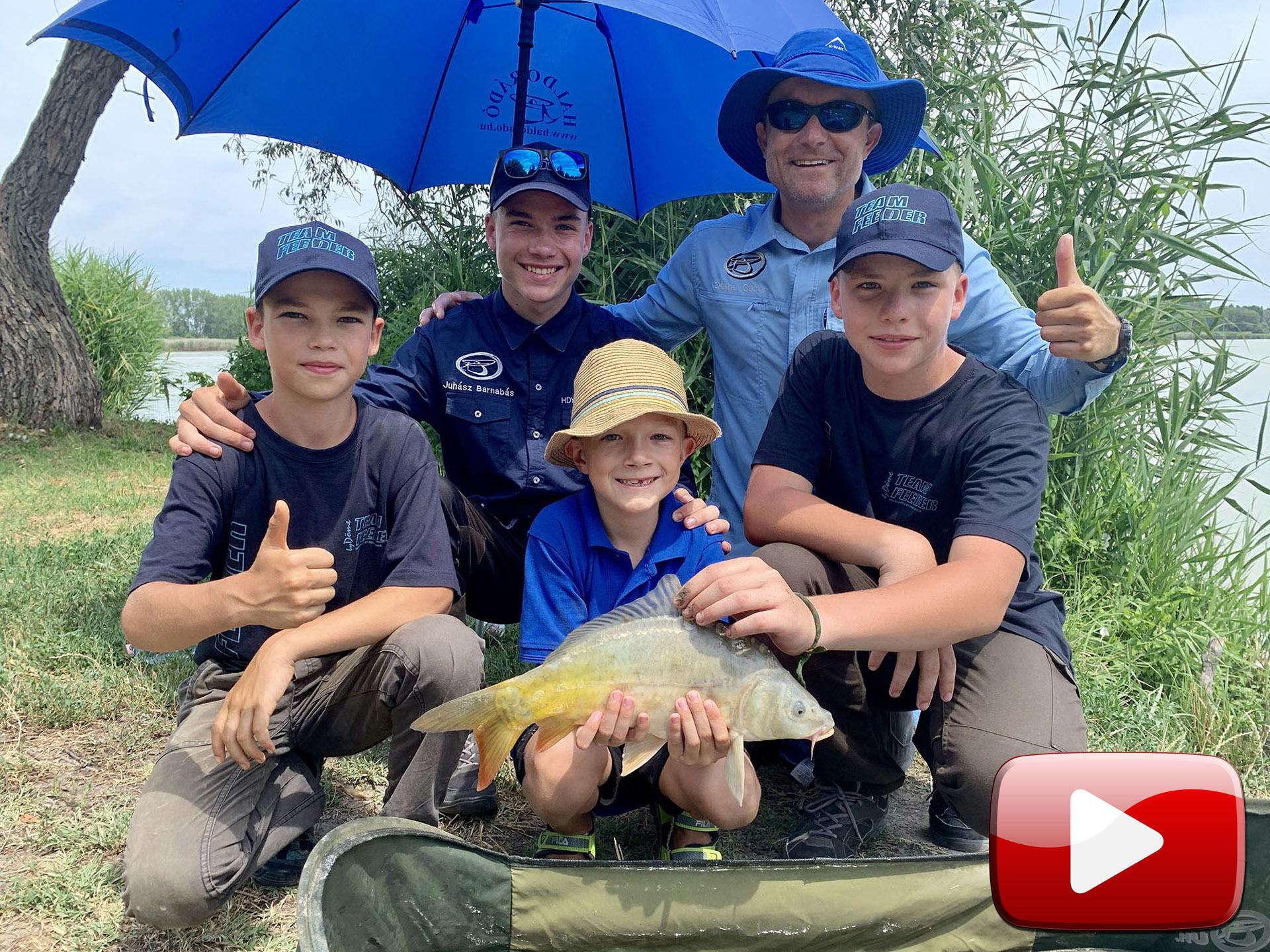 Hogyan csináljunk kedvet gyermekeinknek a horgászathoz?