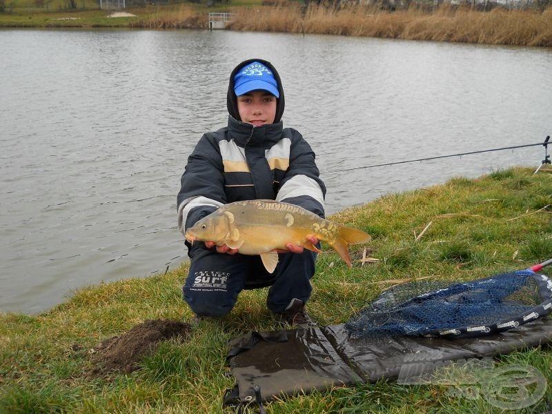 Az év első horgászata…