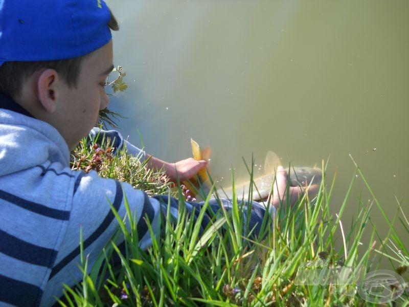 Minden halat visszaengedek. Ugyanolyan joguk van az élethez, mint nekem vagy bárki másnak…