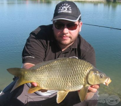 Horgászat intenzív vizeken