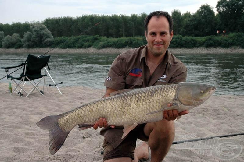 Horgászbottal a Pó folyón