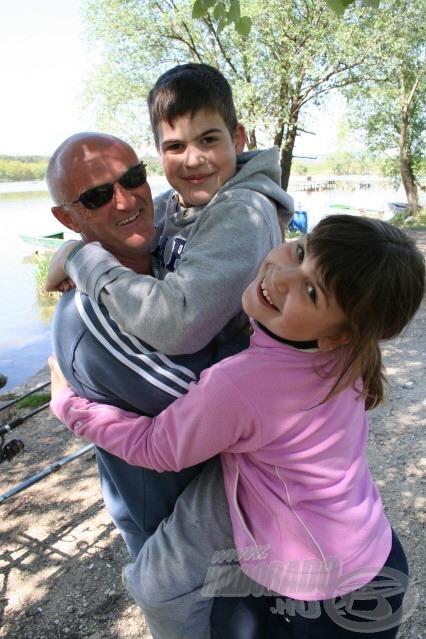 Horgászik a család - Együtt a vízparton 1.rész