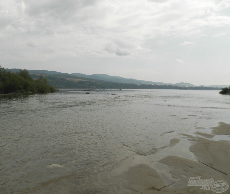 A laza szemcsékből épült homokzátonyok megtréfálhatják a gázoló horgászt