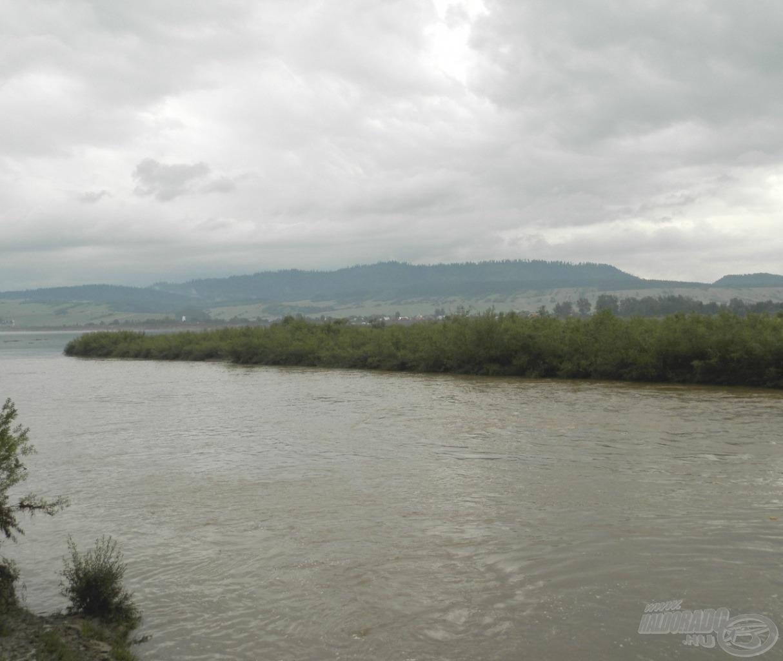 A Dunajec ezúttal nem adott jó halat