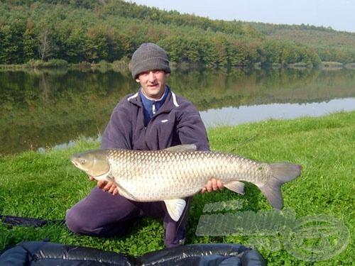 … hiszen komoly méretű halak is szákba kerülhetnek