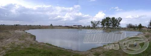 Íme a tó panorámája