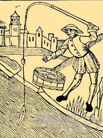 Az első részletes horgászkönyv címlapja, a Treatyse of Fysshynge with an Angle, 1496-ból