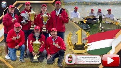 I. Free Style Method Feeder Világbajnokság magyar sikerrel