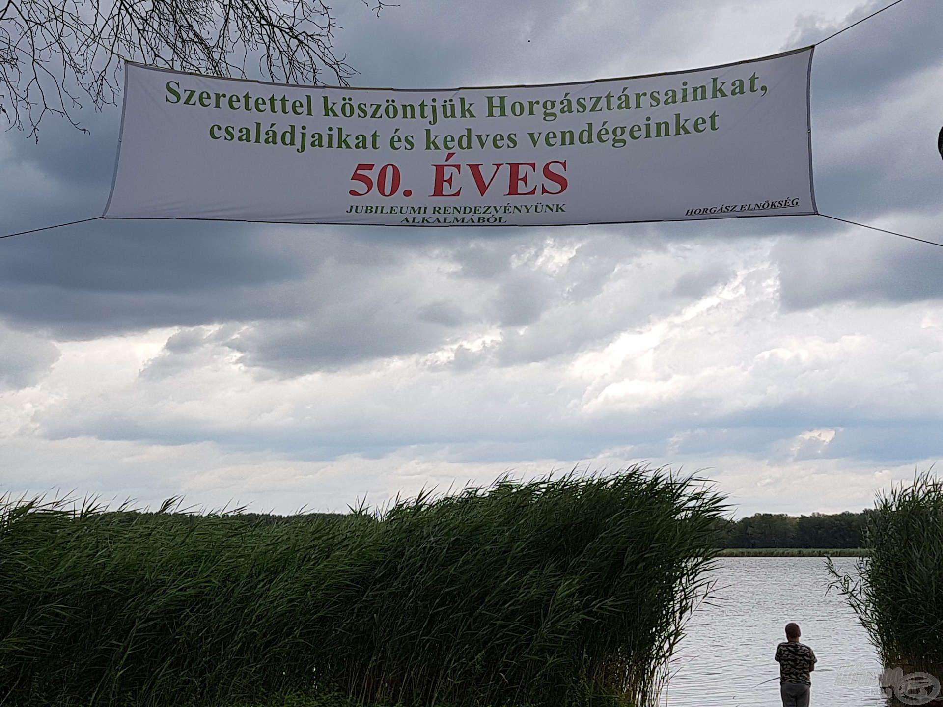 A Soltvadkert – Kiskőrös Petőfi horgászegyesület idén ünnepelte fennállásának 50. évfordulóját