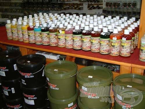 A kiállítás egyik sláger terméke a Big Carp Pellet & Prakticle Amino Syrup volt, amely a pelletek és főtt magvak hatékony ízesítését biztosítja