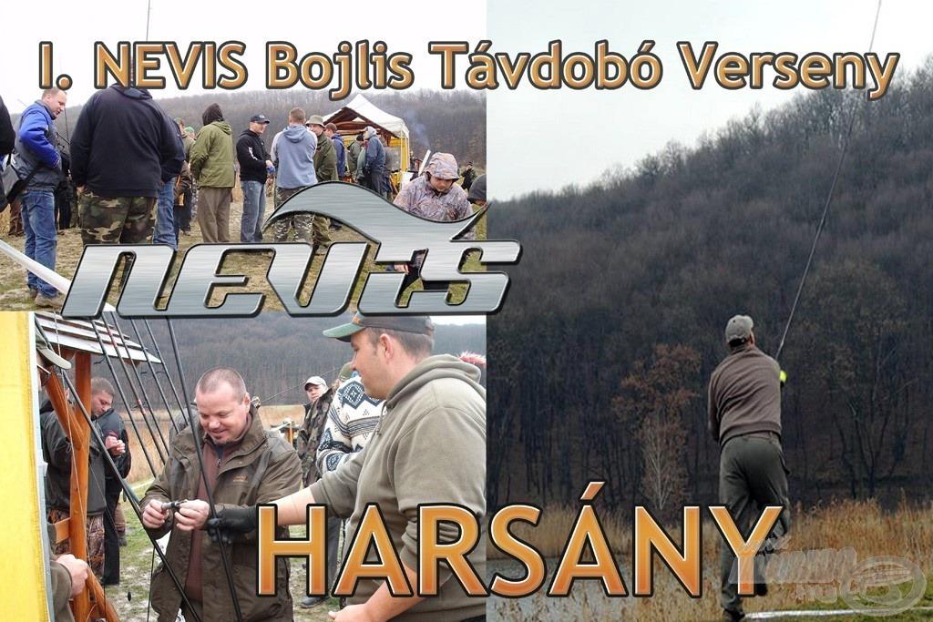 Február 22-én, szombaton került megrendezésre a Harsányi horgásztavon az I. Nevis Bojlis Távdobó Verseny