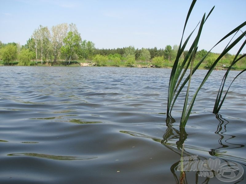 Az áprilisi Tőzeg-tó