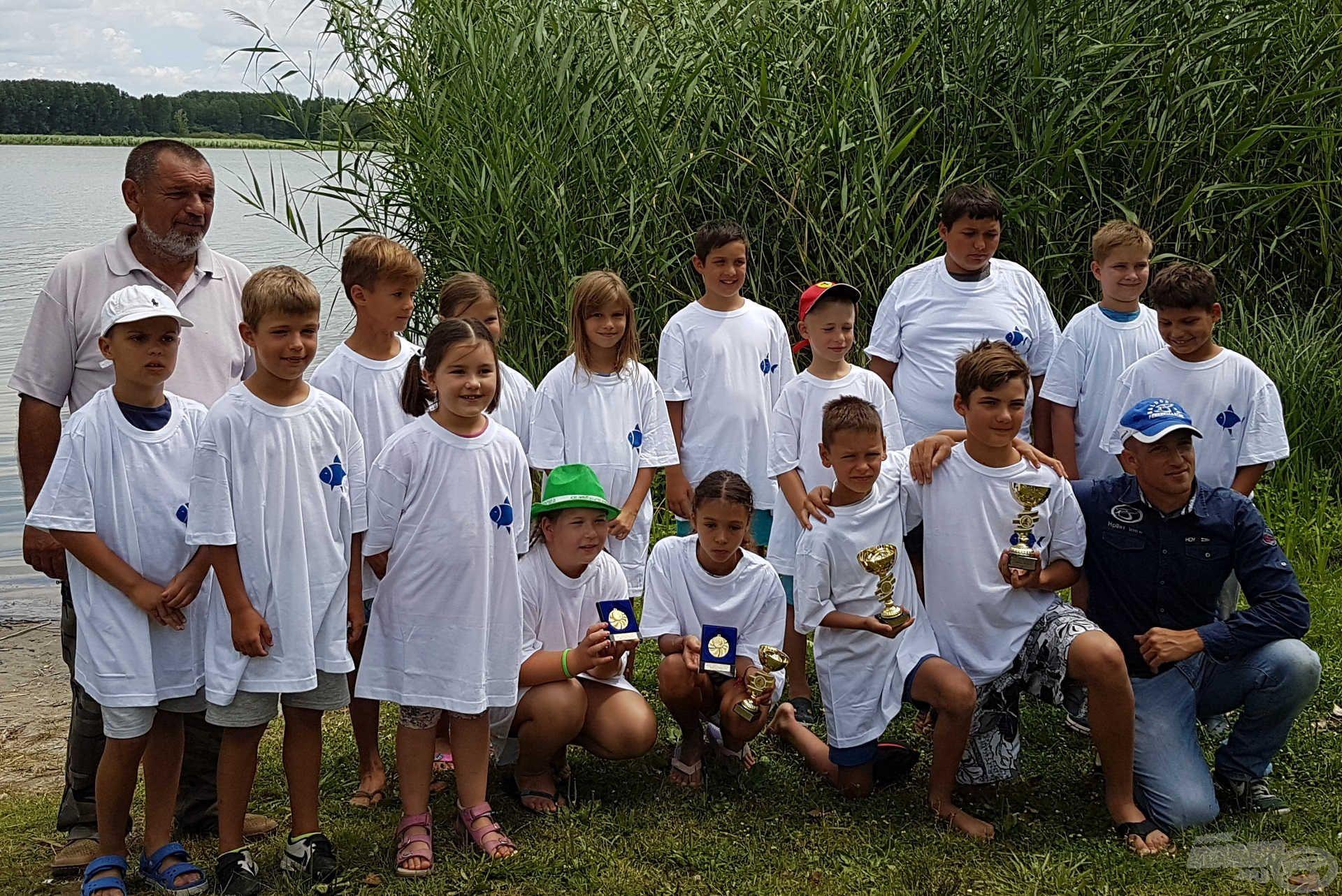 II. Gyermek és ifjúsági horgásztábor a Vadkerti-tavon