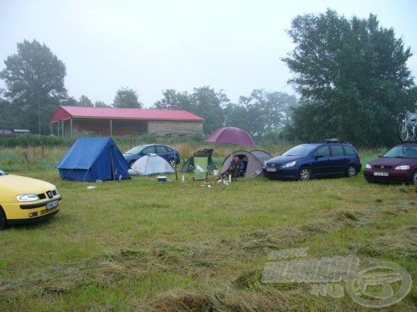 Alakul a tábor