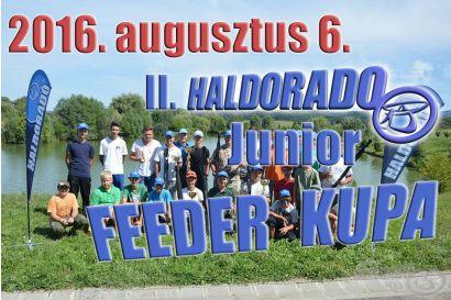II. Haldorádó Junior Feeder Kupa versenykiírás