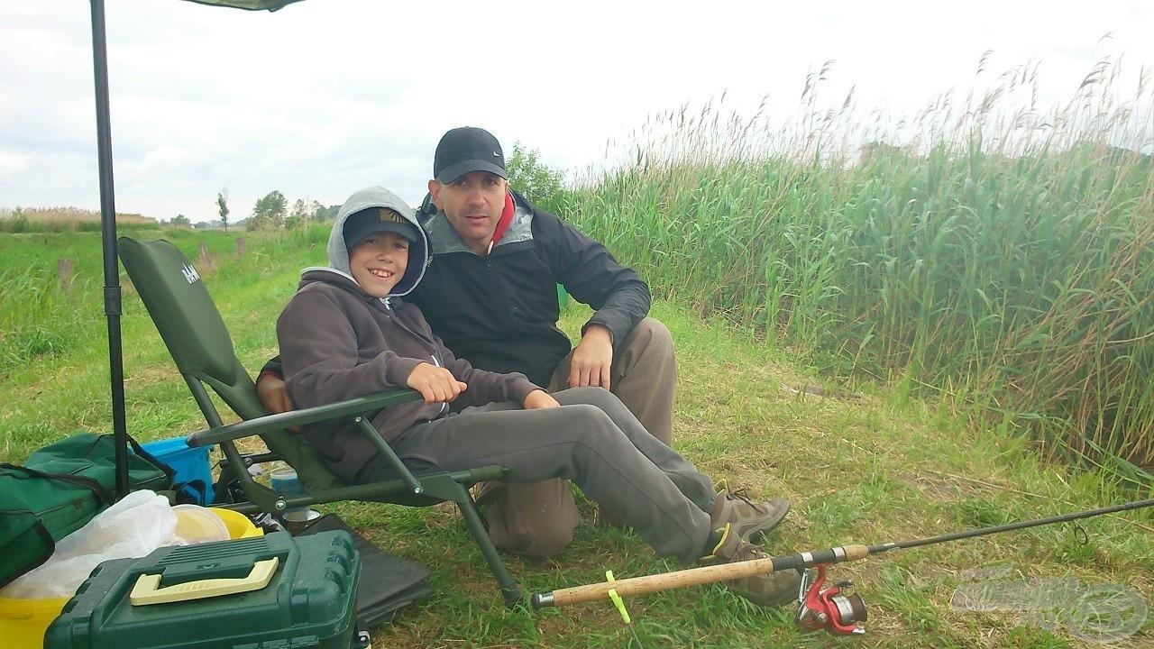 Dominik és édesapja